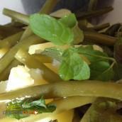 Insalata di fagiolini patate e menta