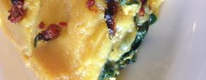 Pasticcio di polenta spinaci e tofu vegano e senza glutine