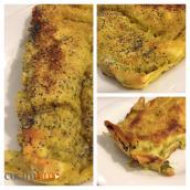 Cannelloni coi ceci e pesto di spinaci