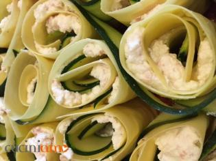 Bouquet di lasagne con zucchini