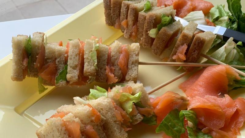 Mini Club sandwich senza glutine