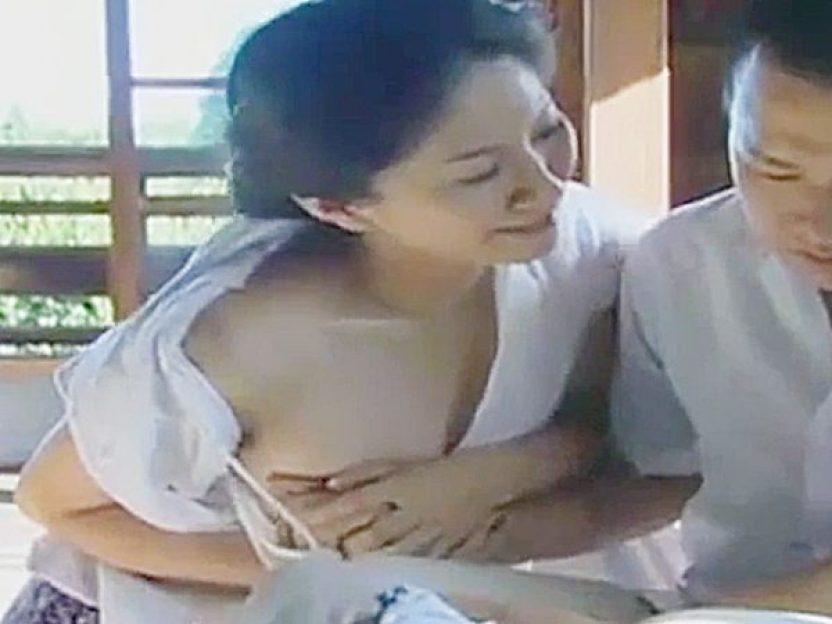 ☆エロドラマ・池端あやめ|ロマンボルノ・FAプロ☆『おじいちゃんと同じコト、シてあげる♡』叔母さんと、口止めセックスです