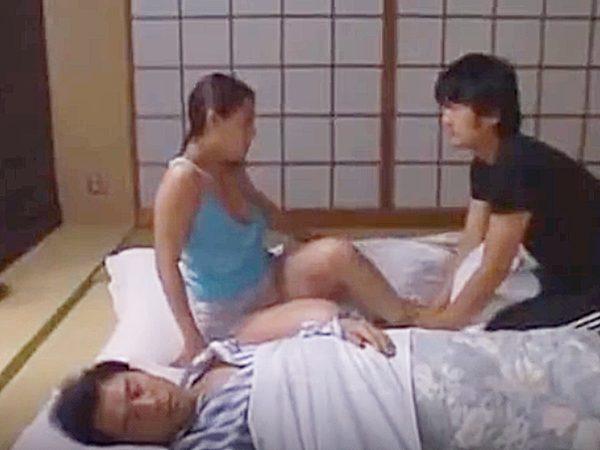 ◆エロドラマ・兄嫁 浮気妻・村上涼子◆『だっ、ダメ..』旦那の弟に夜這いされるムチムチ巨乳奥様。。弱みを握られ言いなりョ