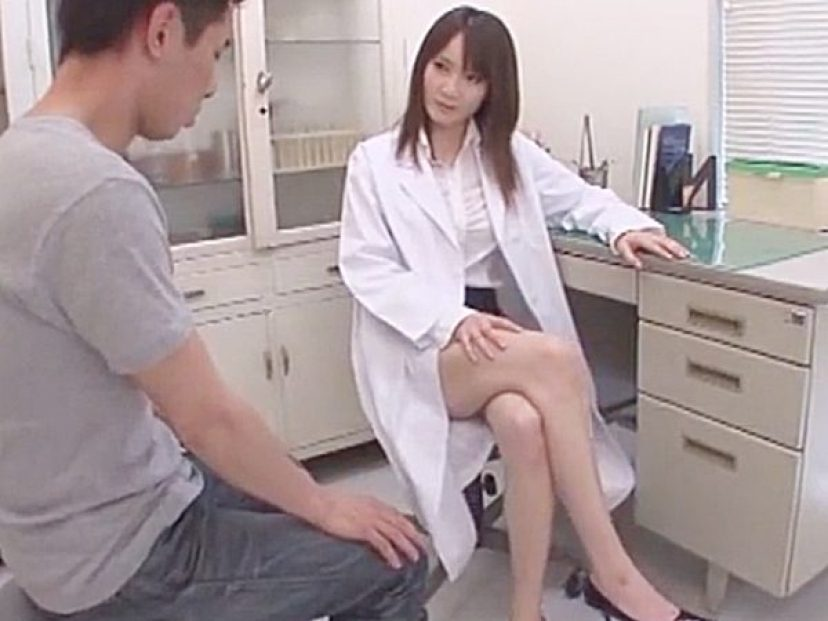 ★エロ診察・ラッキースケベ|着衣セックス・女医★『それじゃぁ、診てみましょうか♡』チンポに悩む患者を美人先生が救いますョ
