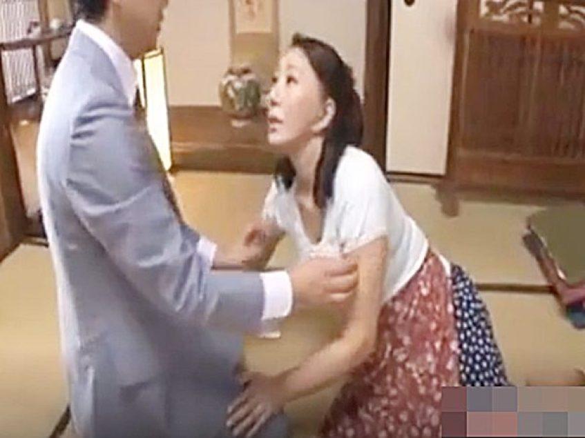 ◆エロドラマ・嫁の母|未亡人・庵叶和子◆『おっ、お義母さん!』妻の実家でムチムチ美熟女ママに恋する娘婿!?ムラムラ義親子