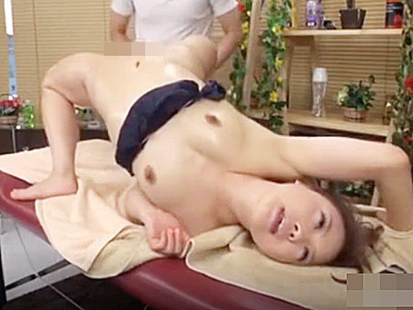 ☆エステ・絶頂アクメ|絶叫イキ・エビ反り☆『アッあぁぁーッ!』オイルマッサージの施術で腰振りガクガクなアヘ顔美女ですョ~