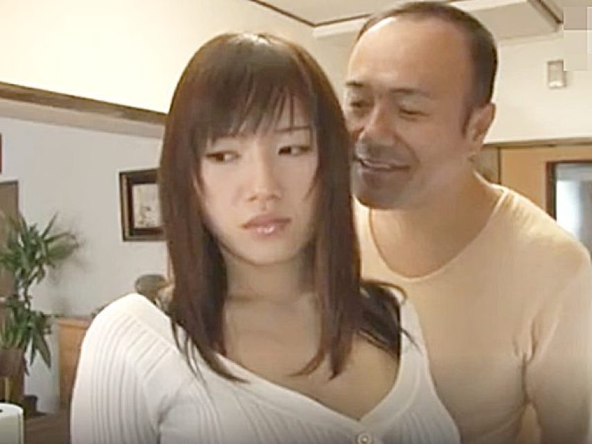 ☆NTR・エロドラマ|息子の嫁・長澤あずさ☆『今日も、イイ匂いするねぇ~』同居する義父のスケベ視線が気になる息子嫁ですョ
