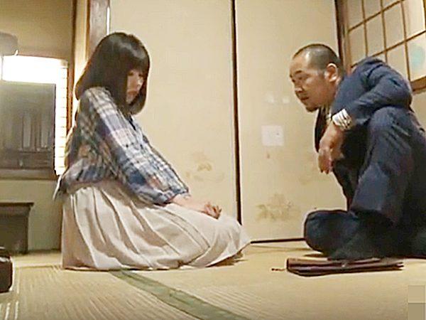 ★エロドラマ・FAプロ 借金娘・彩城ゆりな★『お前にも、責任あるよなぁ~!』取り立て屋の中年オヤジが可愛い少女に迫ります