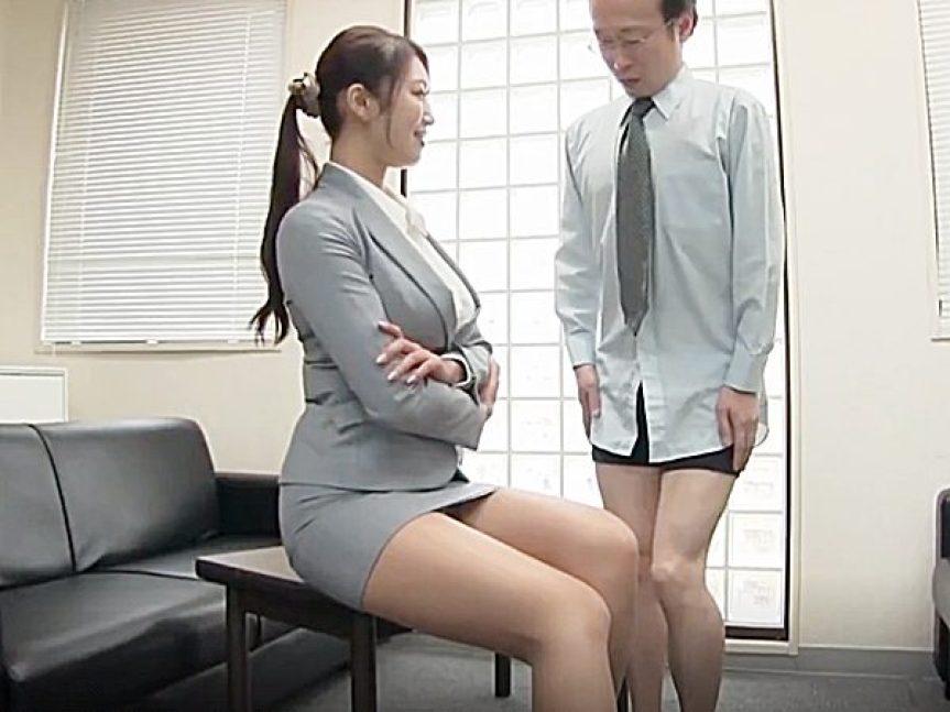 ◆女社長・面接|コスプレ・着衣セックス◆『ぜんぶ見せてみて..♡』社員を選ぶ基準は、やる気あるチンポ!?痴女セクハラや~