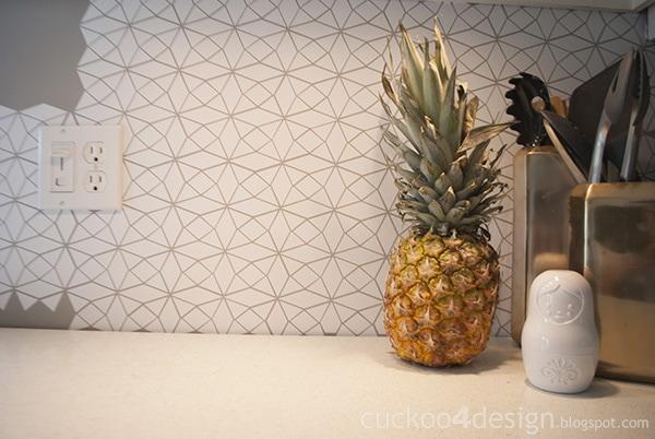 Diy Vinyl Kitchen Tile Wall Decal - Kitchen Backsplash Decals Stickers - Kitchen Design