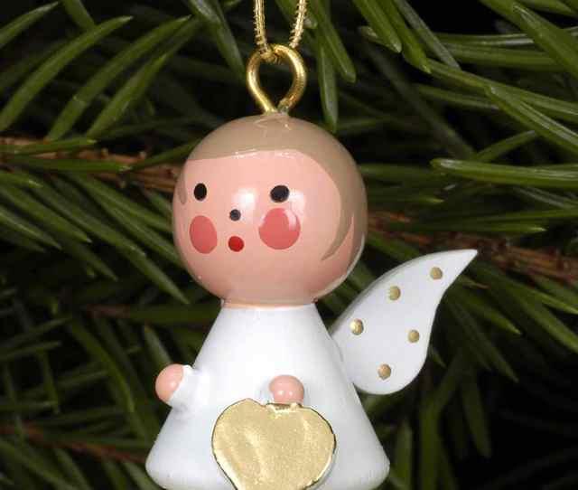 German Ornament Angel On Star
