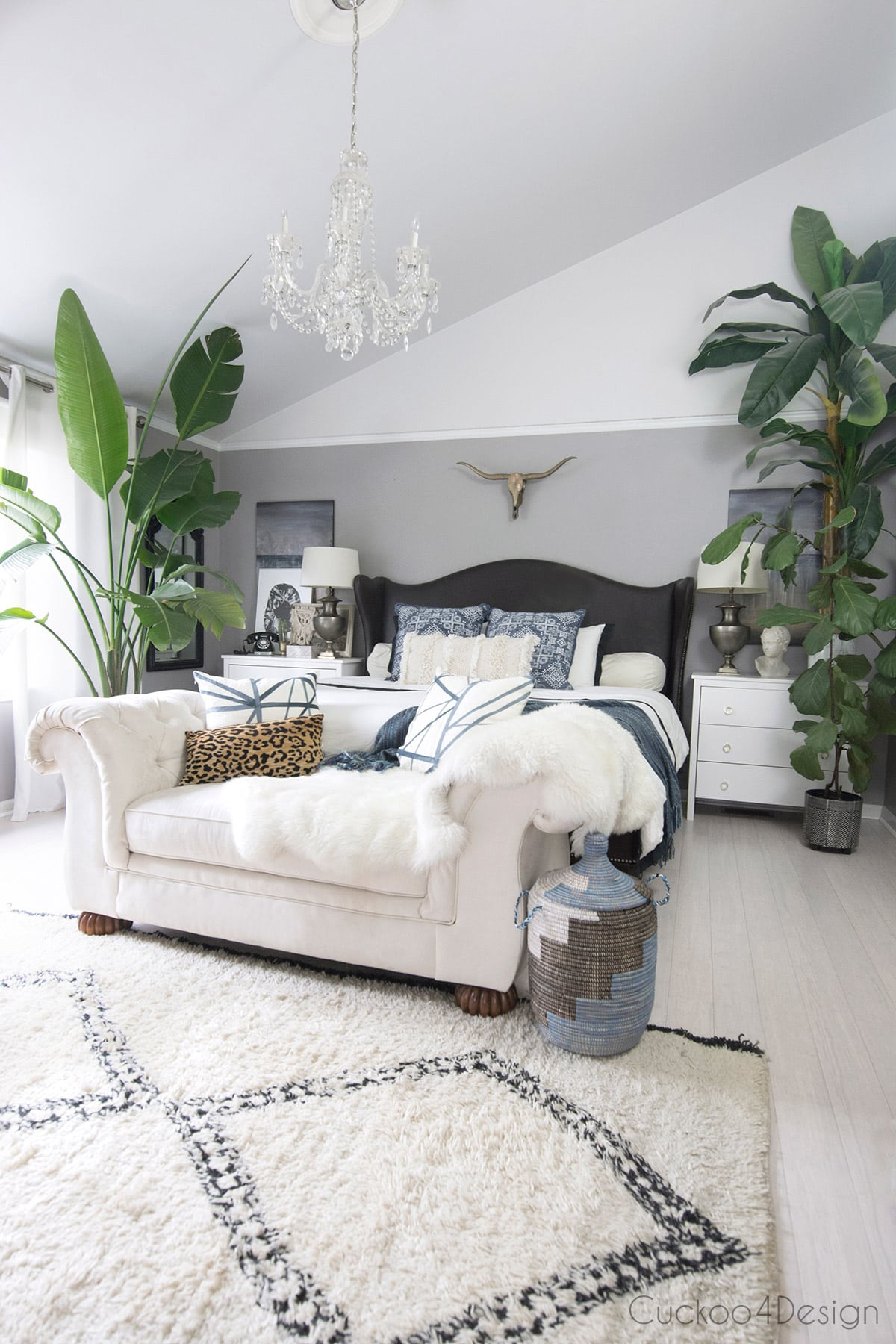 Tips for Decorating your Bedroom on a Budget | Cuckoo4Design on Bohemian Bedroom Ideas On A Budget  id=57919