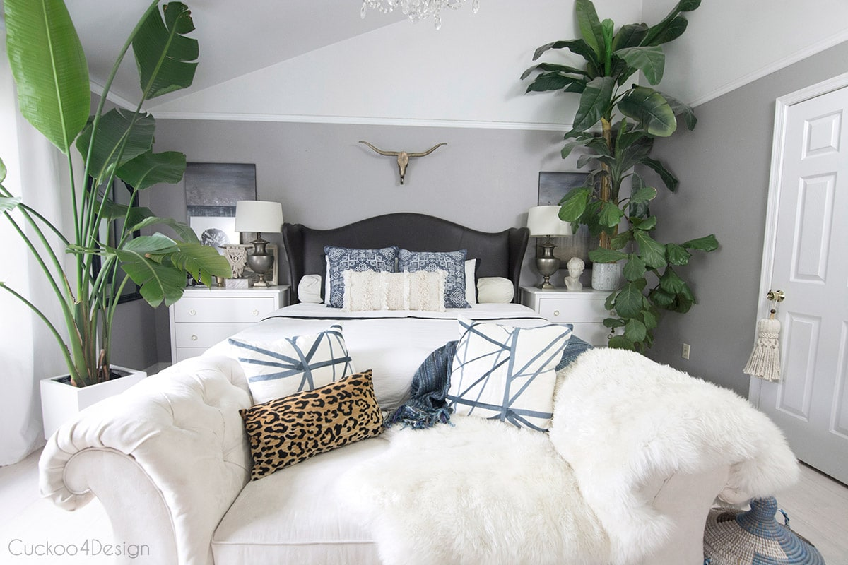 Tips for Decorating your Bedroom on a Budget | Cuckoo4Design on Boho Bedroom Ideas On A Budget  id=65853