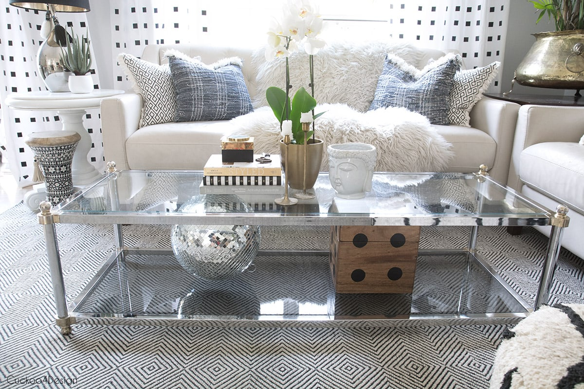 How To Style A Two Tier Coffee Table Cuckoo4design