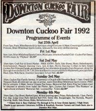 Programmes in 1992
