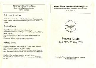 Day Leaflet 2005
