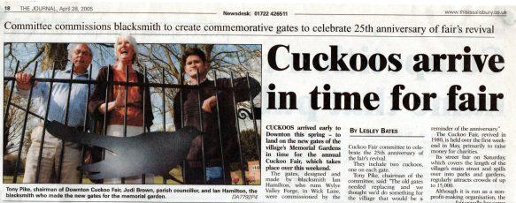 News clip in 2005