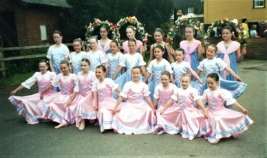 Forest School of Dance at the Procession in 2005