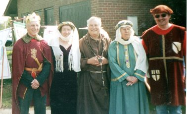 Cuckoo Fair Team at the Procession in 2006