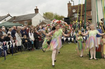 New Forest School Of Dance at the Maypole in 2017