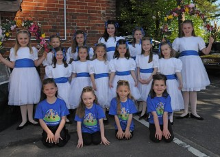 New Forest School Of Dance at the Procession in 2018
