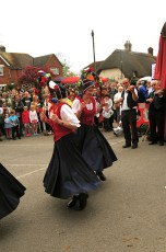 Mr Wilkins' Shilling Clog Dancers at the White Horse in 2010