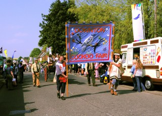 Cuckoo Fair Team at the Fair in 2011