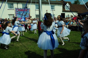 Forest School Of Dance at the Maypole in 2011