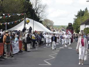 Sarum Morris at the Procession in 2009