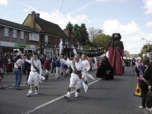 Sarum Morris at the Procession in 2009