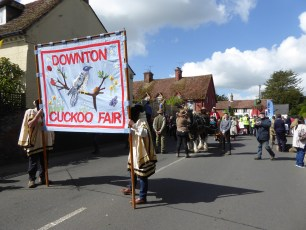 Cuckoo Fair Team at the Fair in 2019