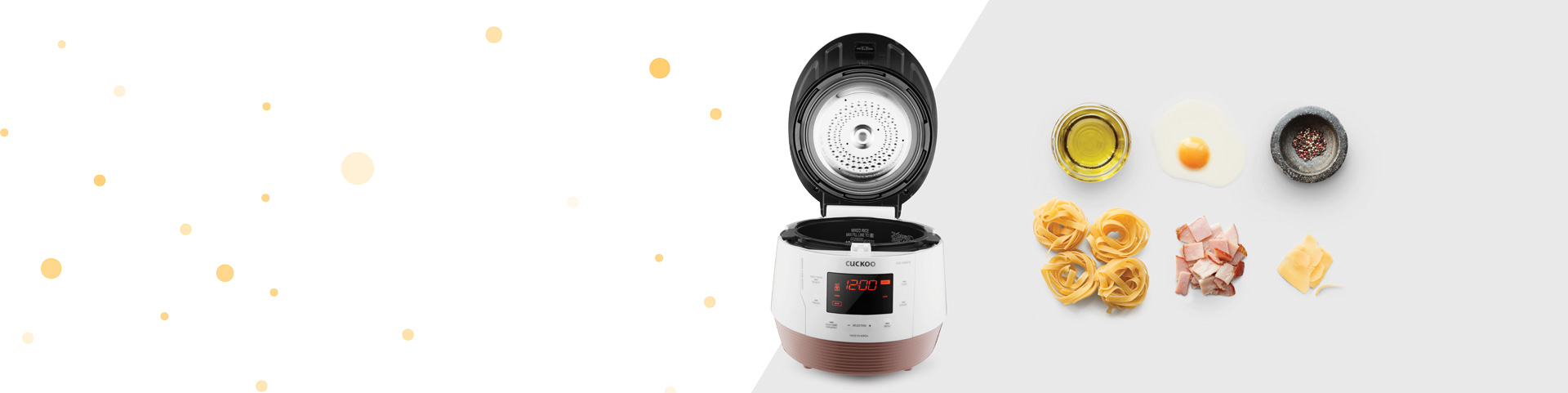 Multi cooker white background image