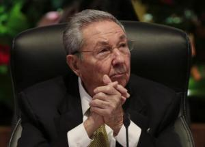 Cuba's President Raul Castro attends the opening session of the 10th ALBA alliance summit in Havana