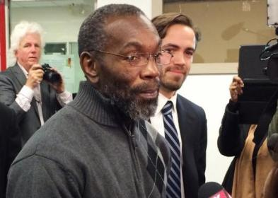 Rickey Jackon, 57 , leaving the courthouse in November 2014.