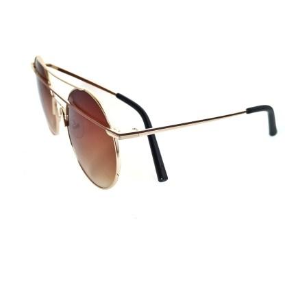 Óculos de sol feminino redondo 27430 C2