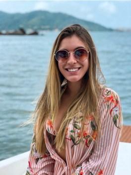óculos de sol cuco blue redondo
