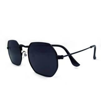 Óculos de sol Octagonal Sensação Preto