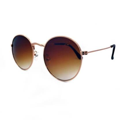 Óculos de sol redondo degradê R10044