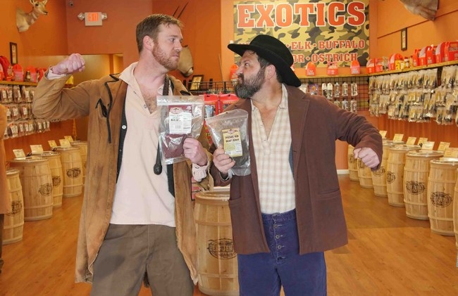 Beef Jerky Outlet Hatfield and the McCoy video production by cucumber & company