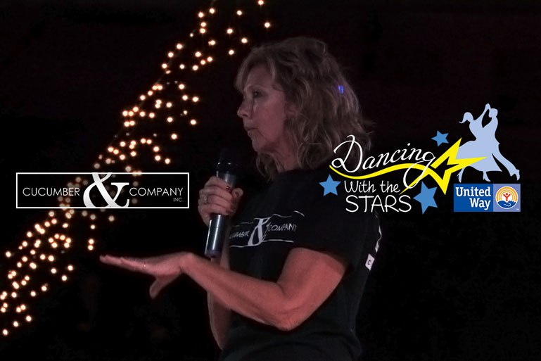 United way of southern West Virginia Dancing with the Stars A/V Services and video Production by Cucumber & Company