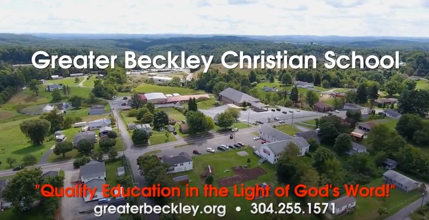 Greater Beckley Christian School West Virginia Web Design and video production by Cucumber & Company