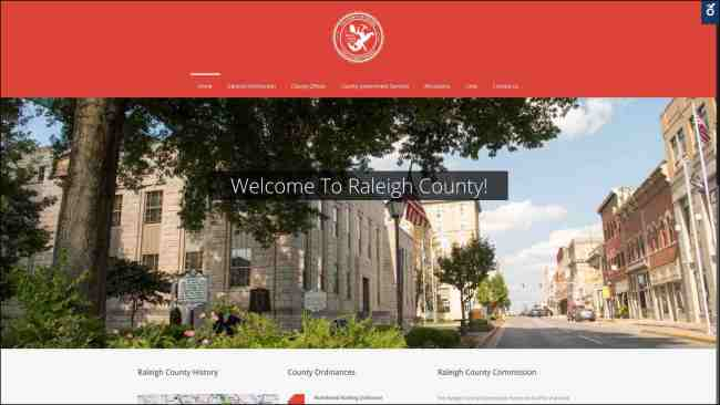 The New Raleigh County Website West Virginia Web Design Cucumber and Company