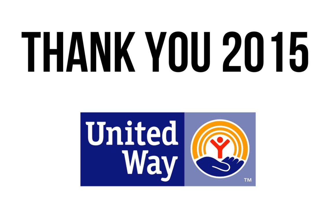 Thank you 2015 United Way Beckley