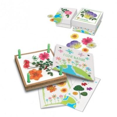 Prensa de flores, juguete educativo
