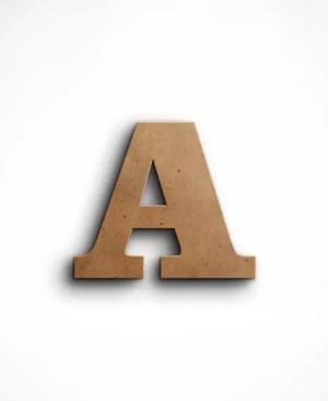 Stojąca litera A