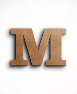 Stojąca litera M