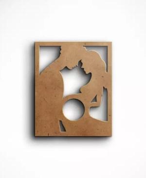 Ramka na pamiątkowe zdjęcie usg - wzór 8