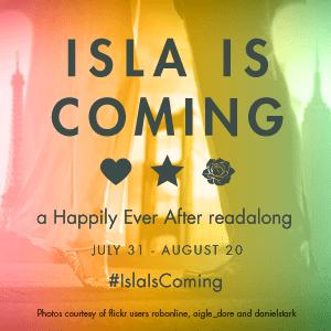Isla Is Coming Readalong Badge