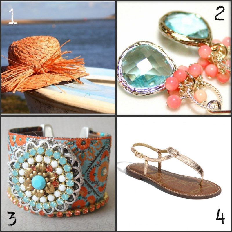 glamorous summer accessories