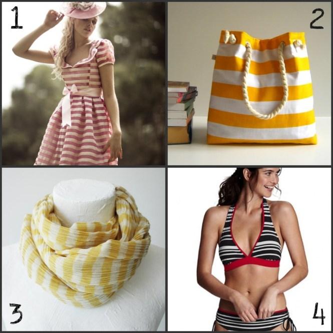 sailor inspired fashion: stripes